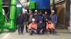 équipe chantier Landivisiau